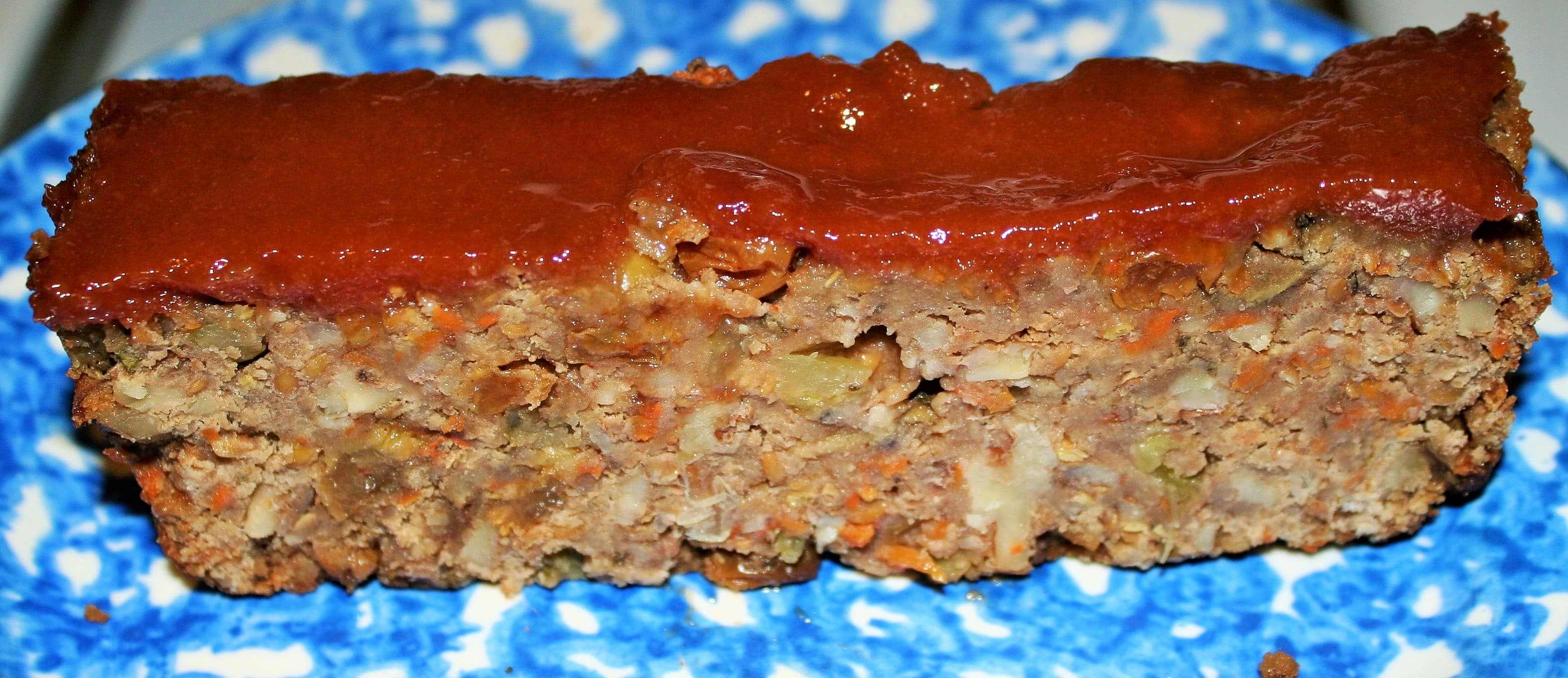 Red Lentil Walnut Loaf