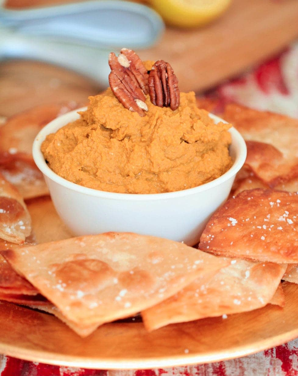 Pumpkin Hummus Recipe