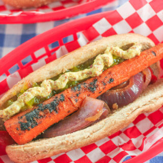 The Best Grilled Carrot Dogs