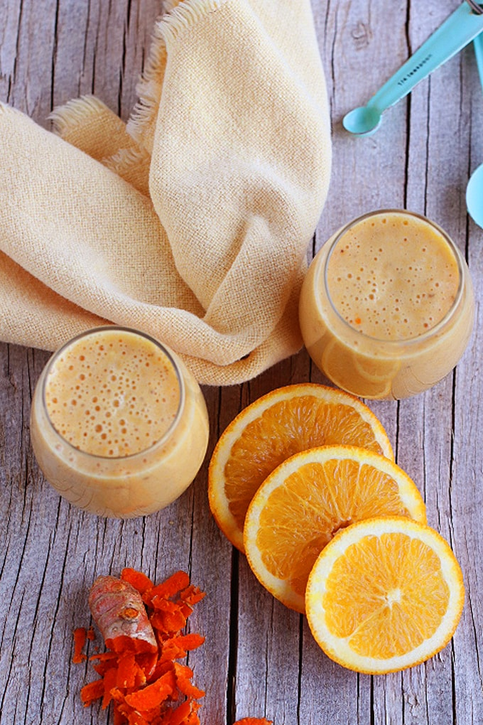 Super Healthy Vegan Orange Julius