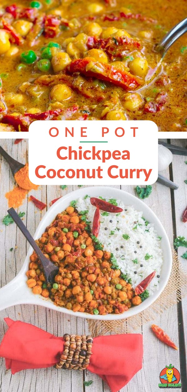 A Pinterest pin of curry