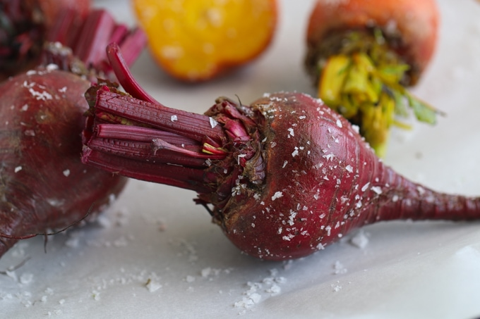 Picture of Beetroot Sprinkled with Sea Salt