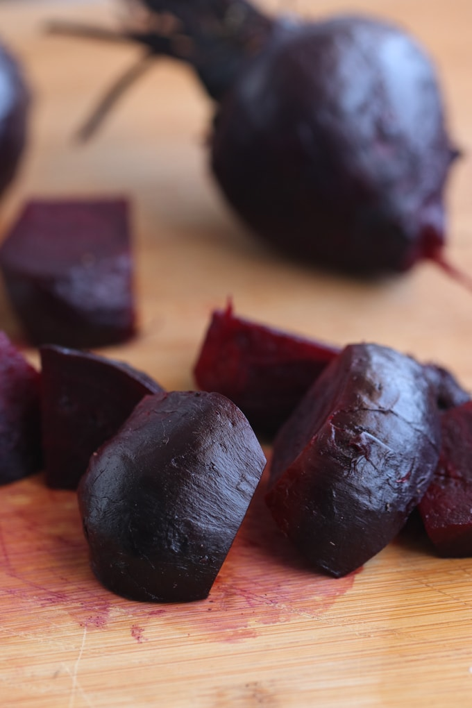 Picture of Chopped Roasted Red Beetroot