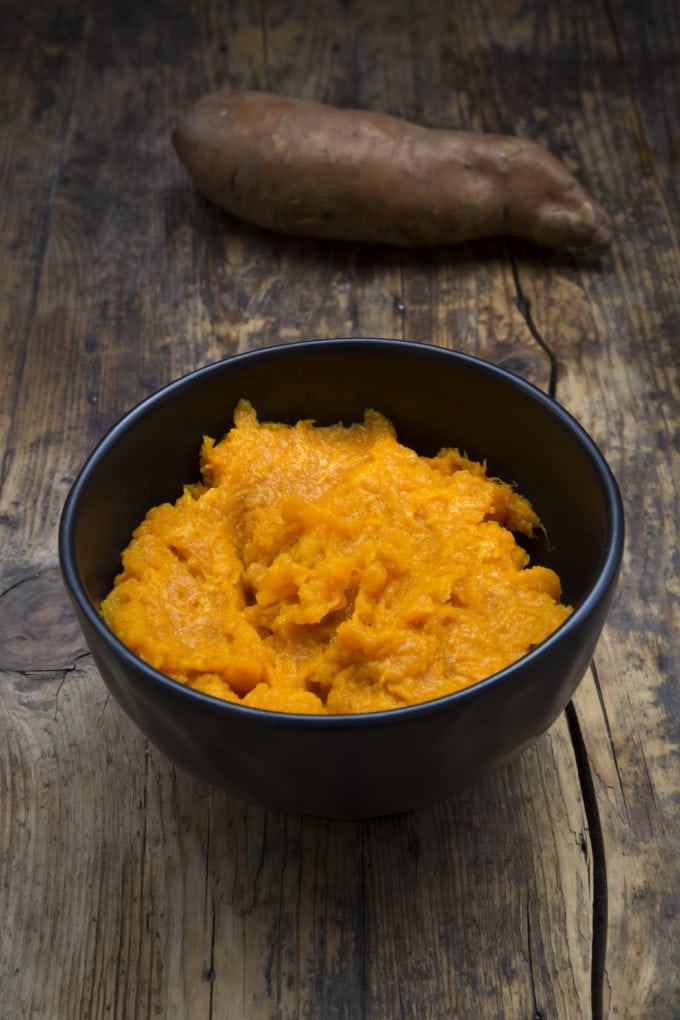 Pureed Sweet Potatoes