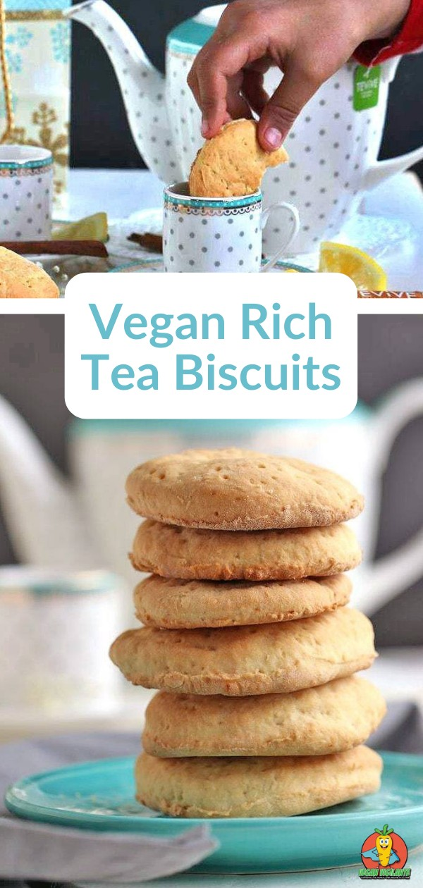 Pinterest pin of biscuits