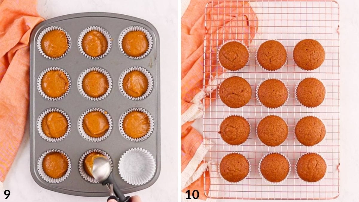 steps 9 and 10 of recipe